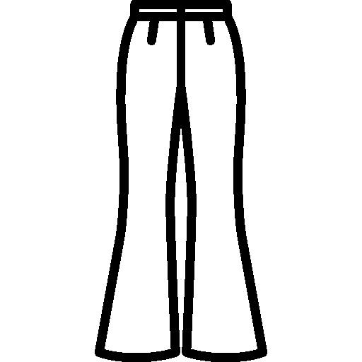 Pantalon Evase