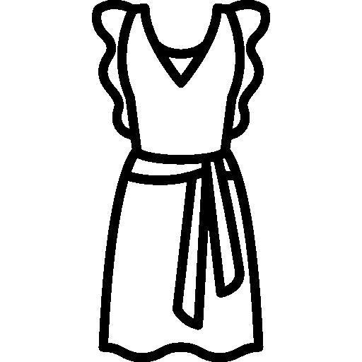 Robe A Manches Papillon